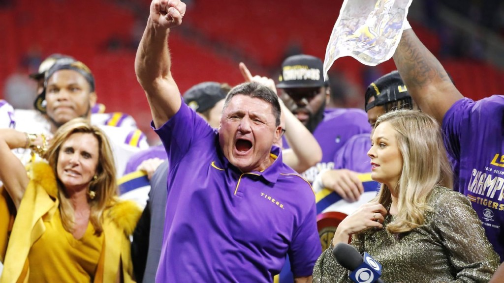 The unbelievable tales of LSU head coach Ed Orgeron
