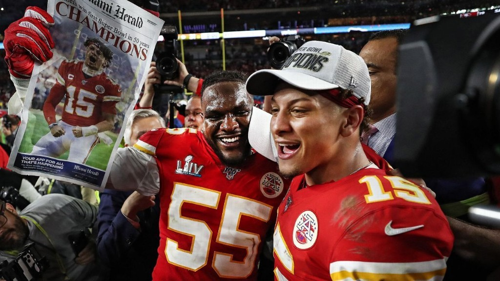 Mahomes: Deal gives Chiefs ability to stay great