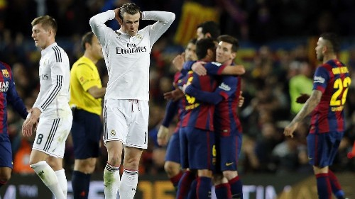 Gareth Bale's car 'kicked and punched' after Real Madrid loss - report