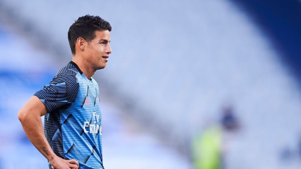 Zinedine Zidane unsure if James Rodriguez will play for Real Madrid again