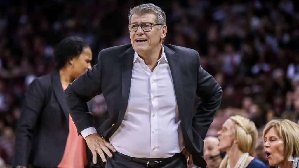 UConn Huskies' Geno Auriemma urges voters to show up, 'do the right thing'