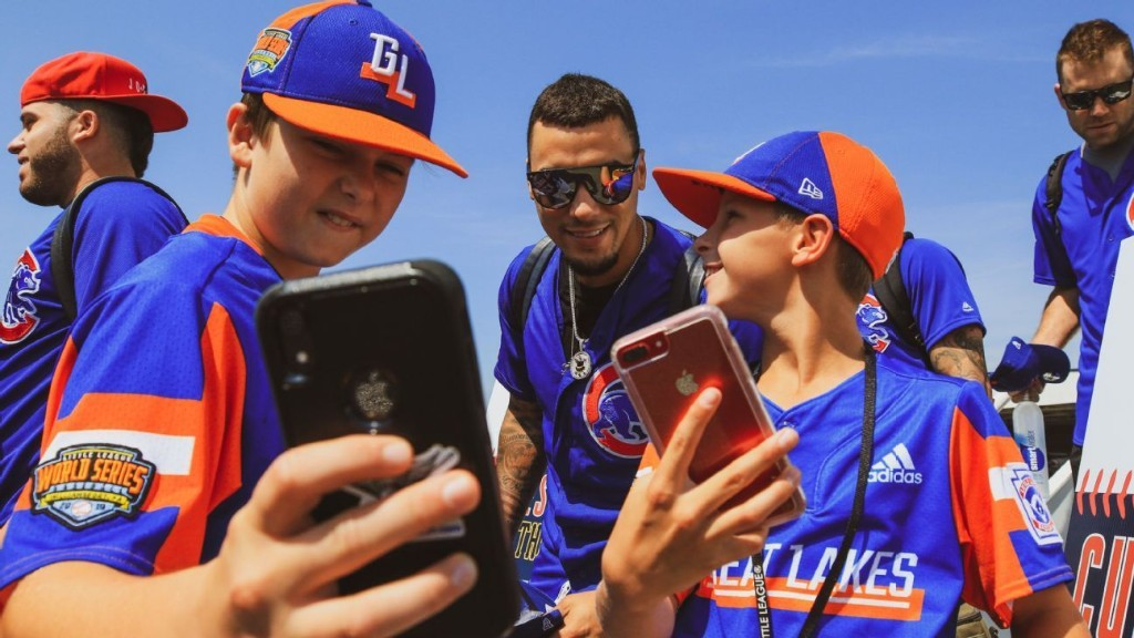 Little Leaguers love Javy Baez, Stranger Things and ... sushi?