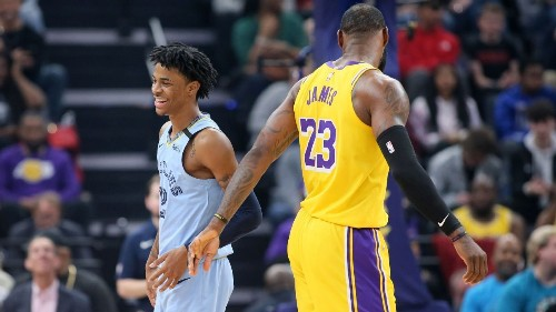 LeBron hails 'super special' Morant after Grizz win