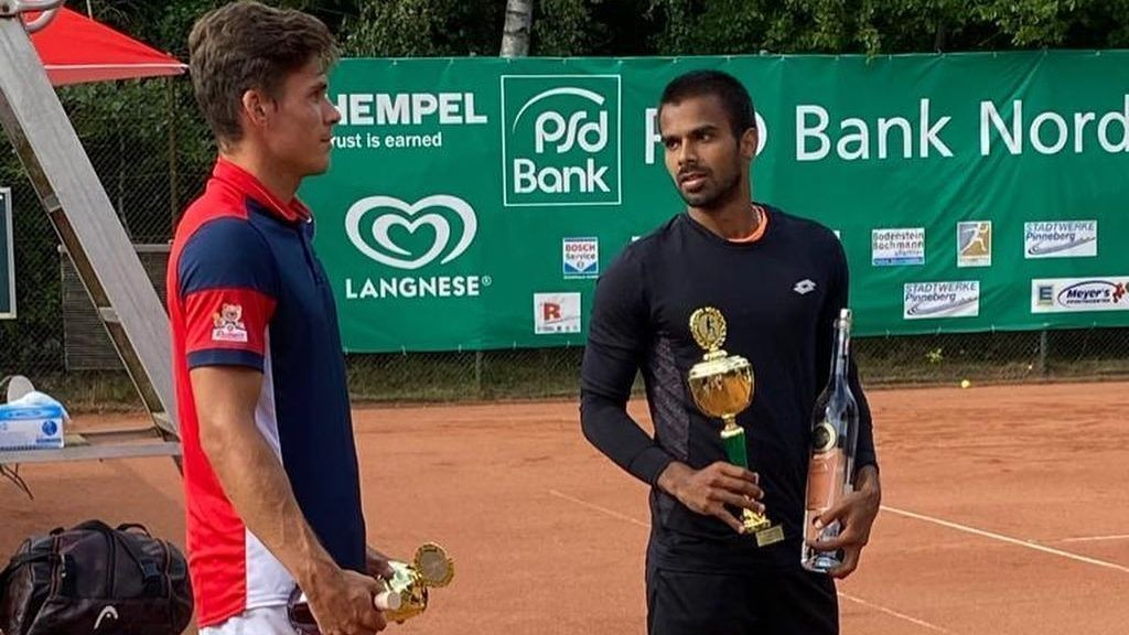 Sumit Nagal wins German tournament amid temperature checks, regular sanitising