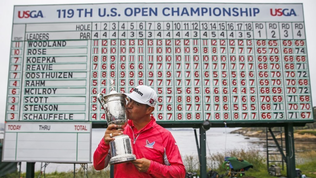 Gary Woodland's journey through heartbreak to U.S. Open champion