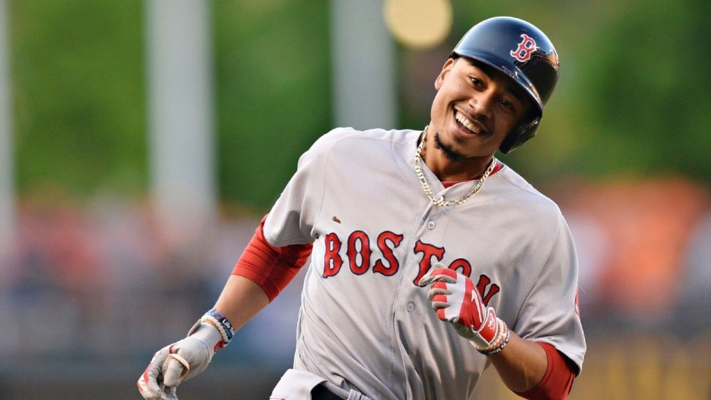 Red Sox's Betts belts fifth HR of past 2 games