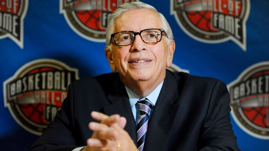 NBA commissioner David Stern was a complete force of nature