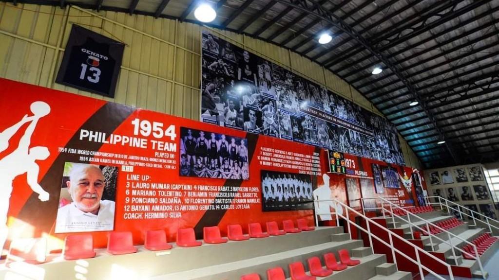 Valenzuela City honors Philippine basketball legend Antonio Genato