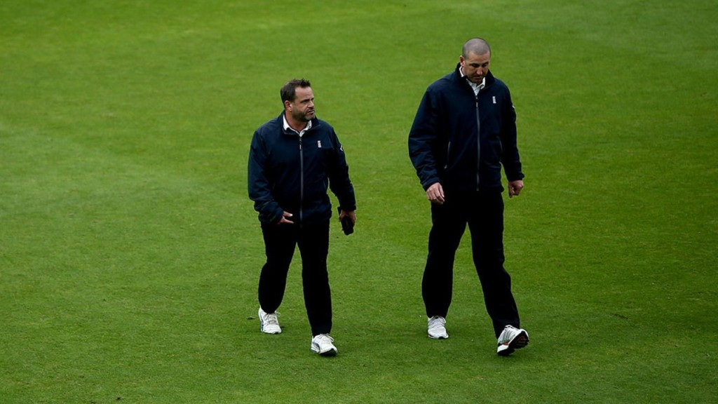 Umpires step up for charity