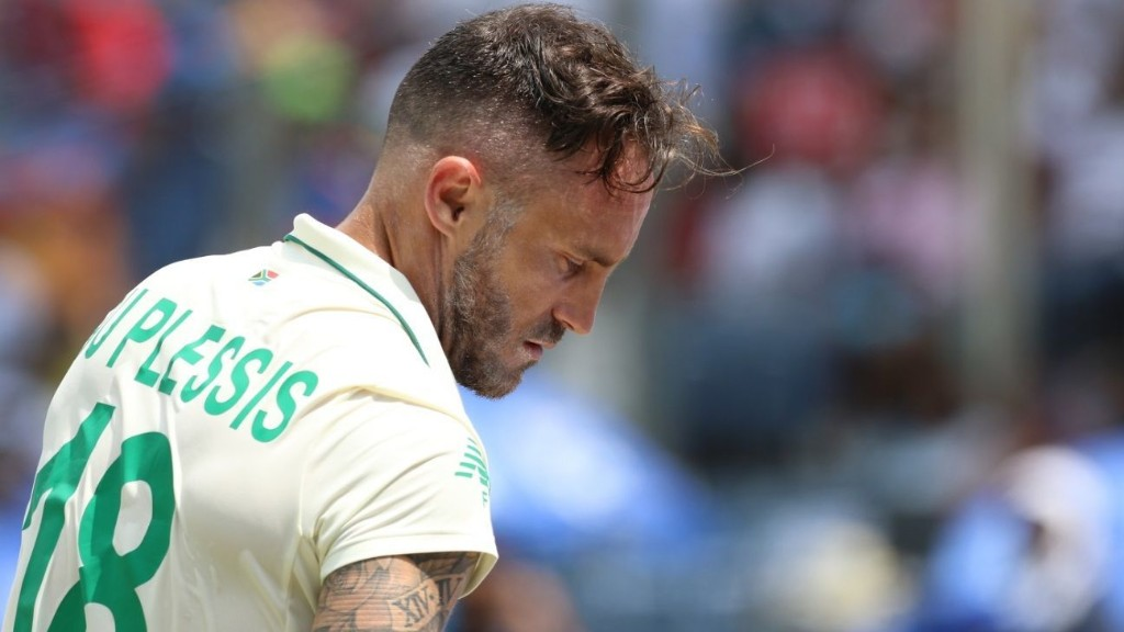 India's 'exceptional ruthlessness' with bat left us 'mentally weak' - Faf du Plessis