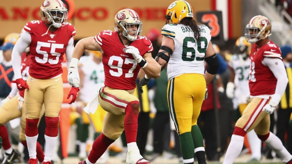 How the 49ers' defensive line inspired a dramatic turnaround