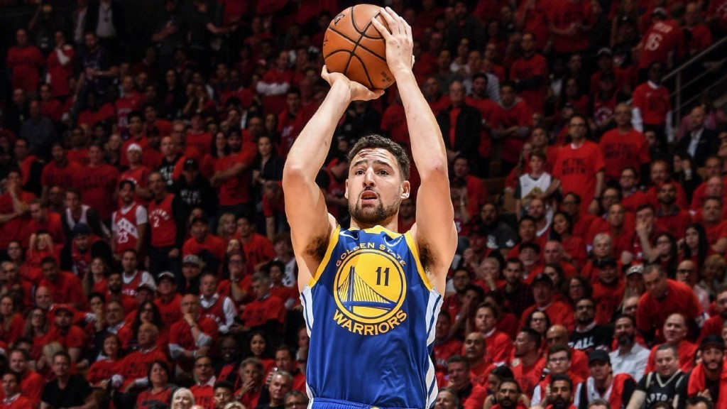 The Klay Thompson 3 is Golden State's best hope right now