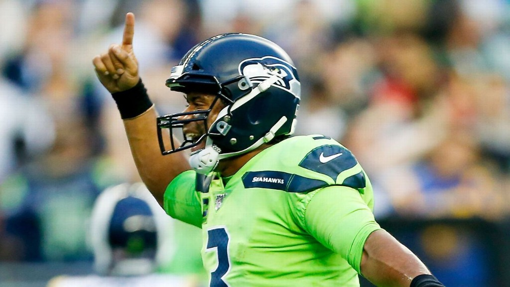 Russell Wilson's MVP-level play gives Seahawks the look of a contender
