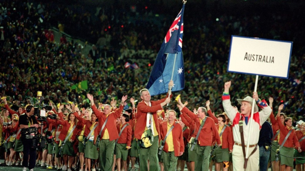 Andrew Gaze on flag bearing, the 2000 Olympics and the Boomers
