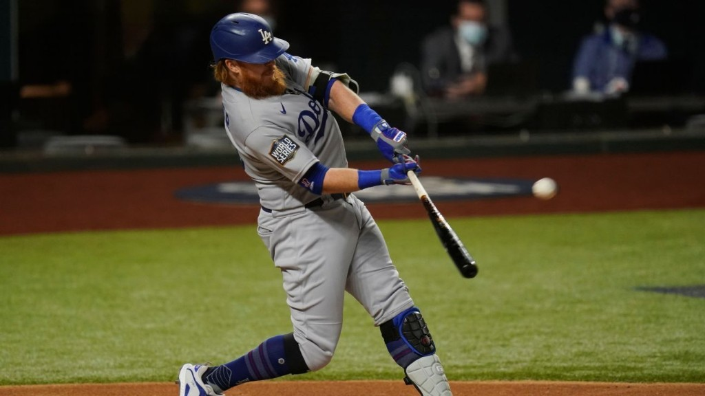 Los Angeles Dodgers' Justin Turner breaks franchise mark for career playoff homers