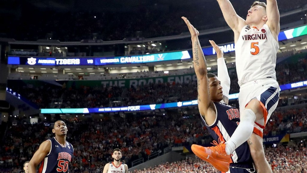 The foul call that will overshadow the Virginia-Auburn Final Four game