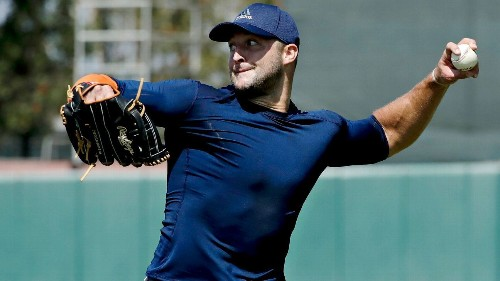 Tim Tebow journey with Mets starts with first step