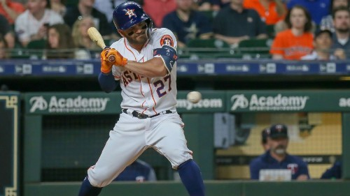 Sportsbook sets O/U on Astros plunkings at 83.5