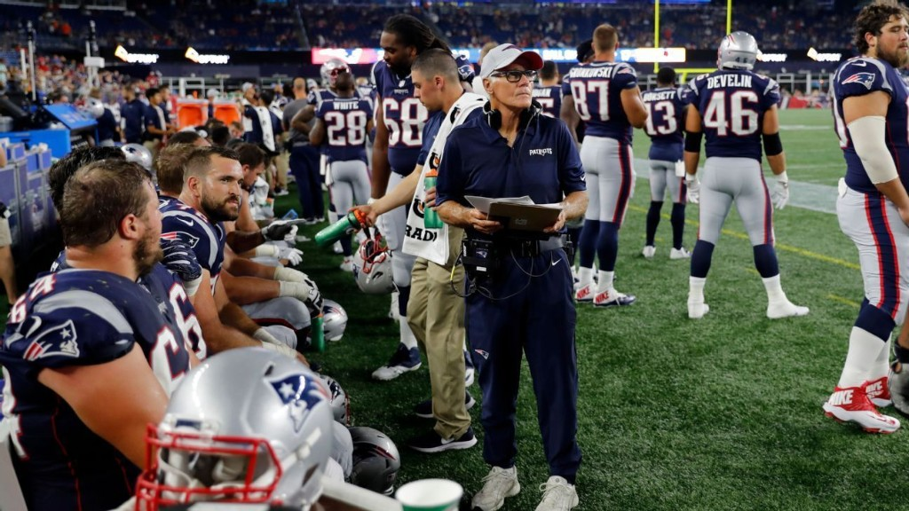 Meet the Patriots' Dante Scarnecchia: The 'greatest' O-line coach in history