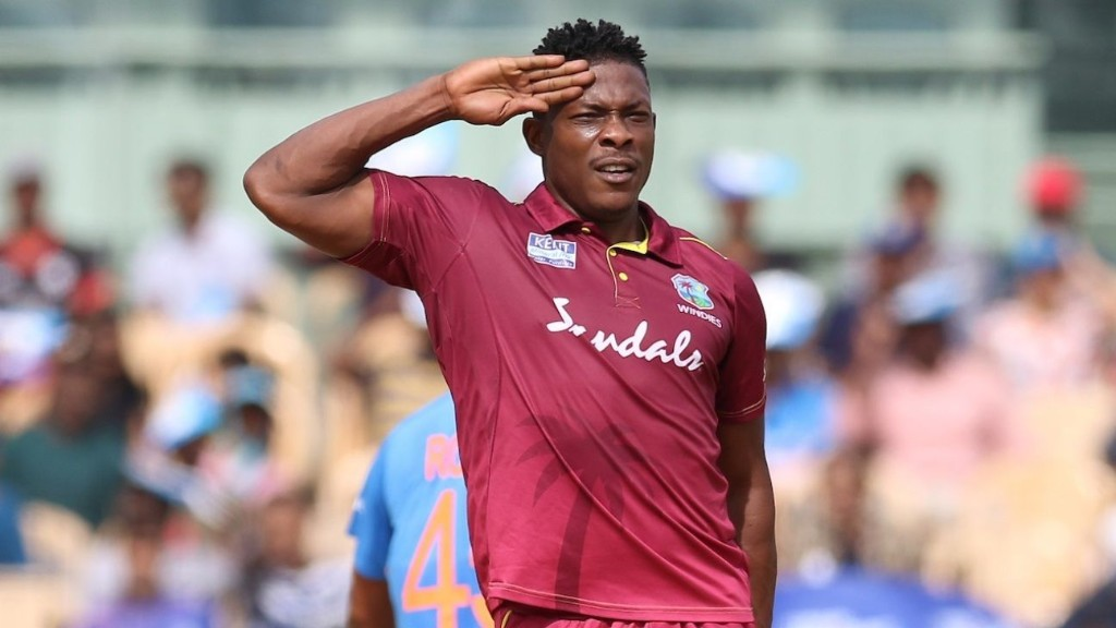 Sheldon Cottrell: 'I wouldn't say that I'm a sure pick' in the West Indies side