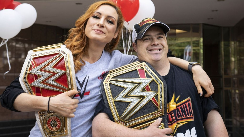 How WWE superstar Becky Lynch found a way to top 2019 with one announcement -- and give back to Special Olympics