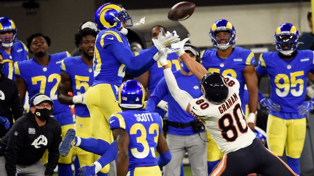 Rams' defense powers bounce-back win vs. Bears