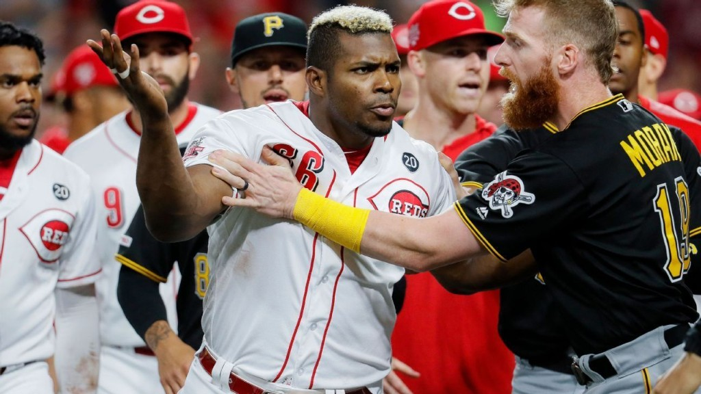 Puig's brawl with Reds or Bauer's tantrum toss: Whose exit was uglier?