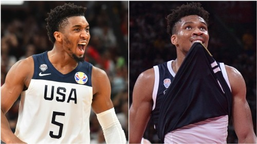 U.S. nears quarters after rout of Giannis, Greece
