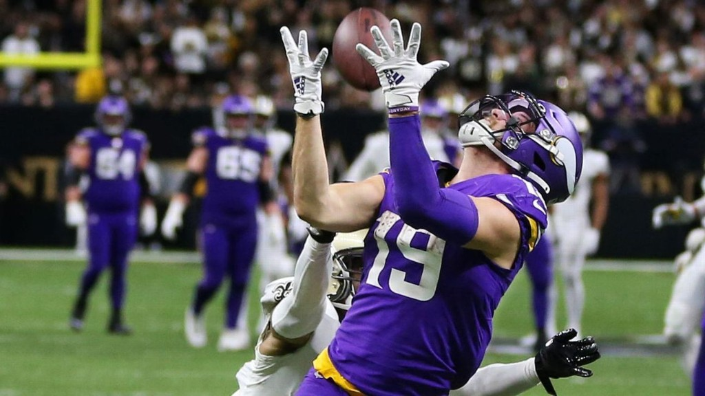 The story behind Kirk Cousins' perfect 43-yard pass to Adam Thielen that sunk the Saints