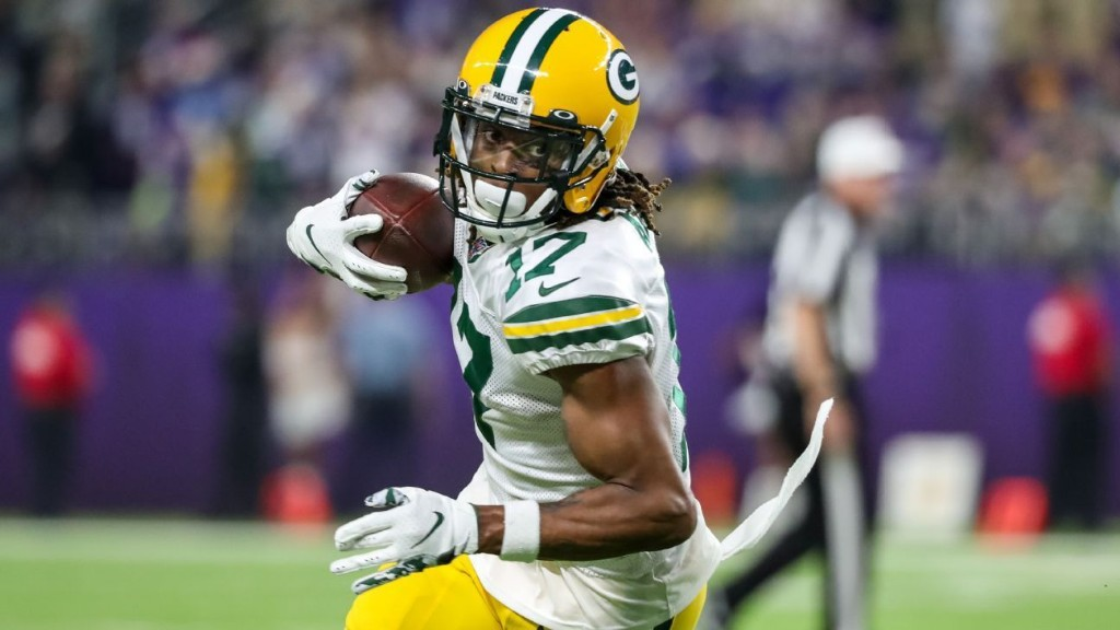 Source: Green Bay Packers consider Davante Adams a game-time decision for Sunday night game