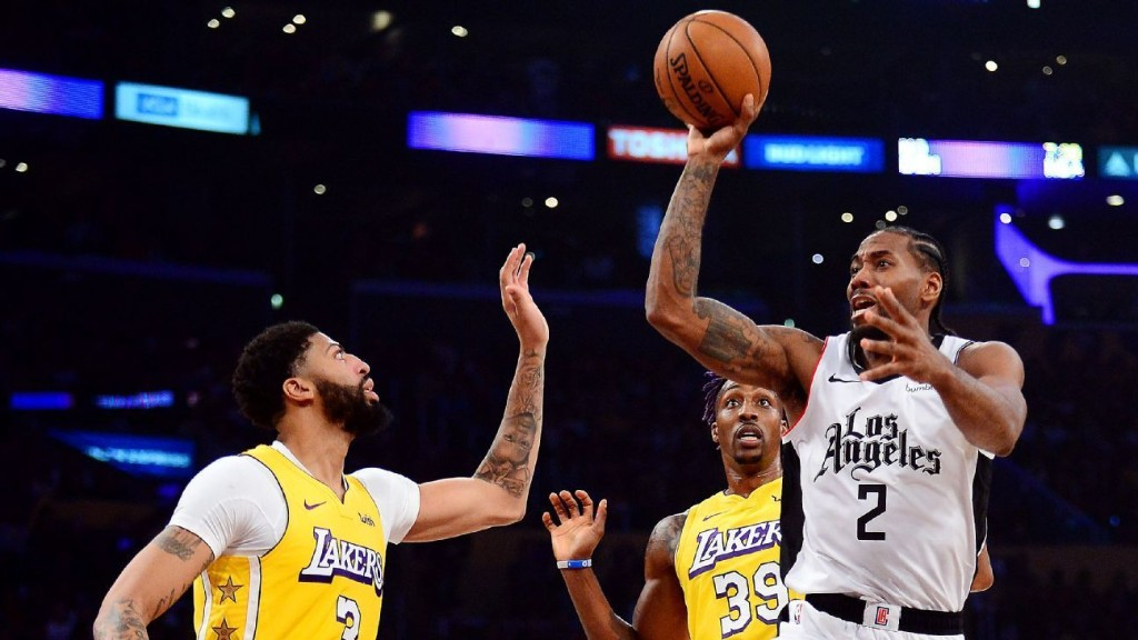 The Clippers and Lakers are still figuring out this rivalry