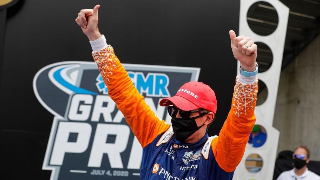 Scott Dixon breaks through at Indianapolis with Grand Prix win