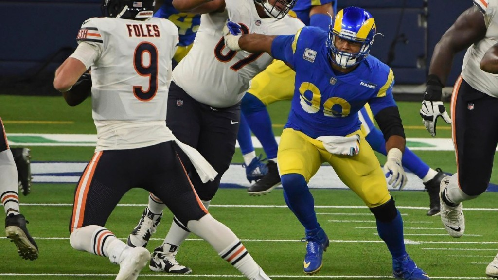 Rams' Aaron Donald ready to welcome Dolphins' Tua Tagovailoa to NFL