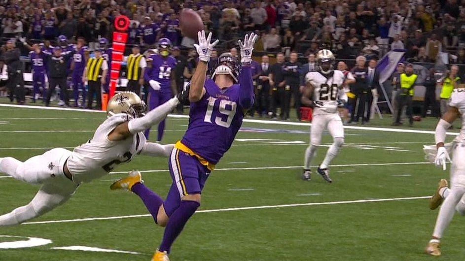 Vikings Stun Saints in OT; Eagles Lose QB And Then Game