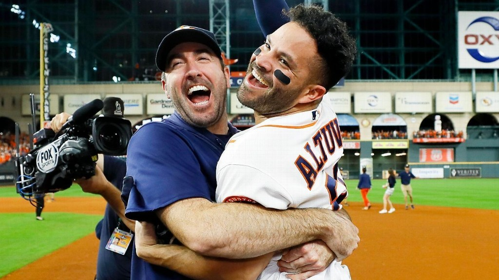 'We're going to the World Series': Altuve, Astros feast on the big moments