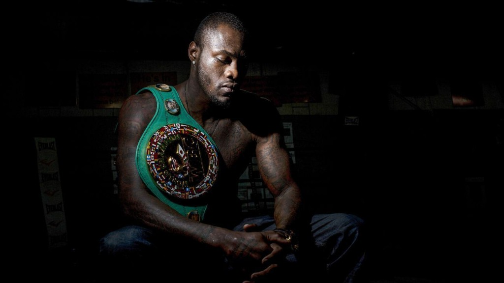 What happened to the great American heavyweight? He's back. His name is Deontay Wilder