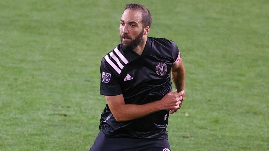 Inter Miami's Higuain on MLS: I'm in love with football again