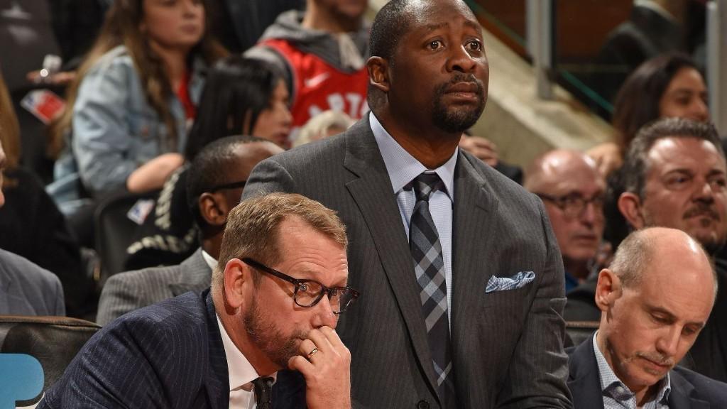 Raptors assistant Adrian Griffin takes head-coaching reins vs. Sixers