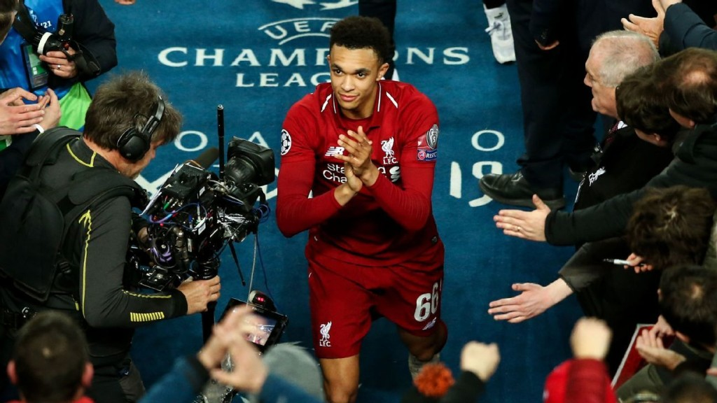 Why Trent Alexander-Arnold won't stop