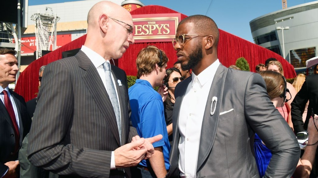 How the trust between Adam Silver and Chris Paul will shape the NBA's restart