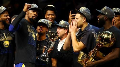 Kevin Durant named NBA Finals MVP