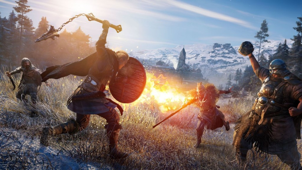 Going a-viking with Assassin's Creed Valhalla
