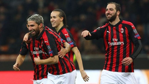AC Milan rally for decisive Europa League win against F91 Dudelange