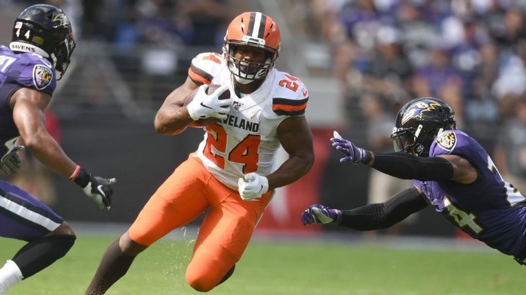 Cleveland Browns finally show off their much-hyped offense