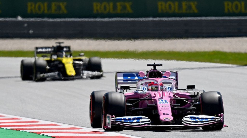 Renault, Racing Point set for hearing over 'pink Mercedes' protest