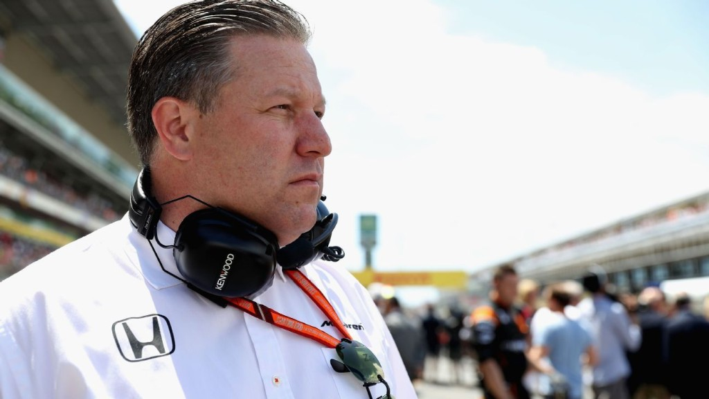 McLaren boss Brown warns F1 could lose four teams during pandemic