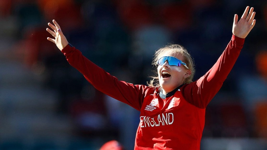 Sophie Ecclestone: 'I want to be one of the best that's ever played women's cricket'