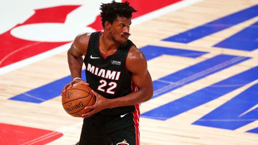 Miami Heat's Jimmy Butler says he didn't hold up his end of bargain after Game 6 loss, vows 'we'll be back'