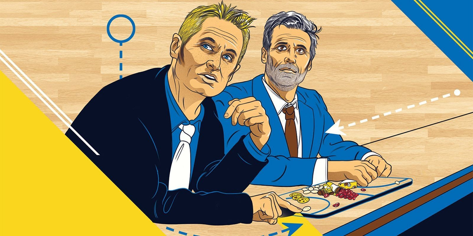 The Charcuterie Board That Revolutionized Basketball