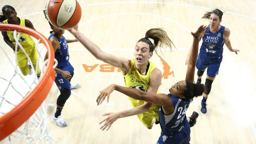 WNBA playoffs 2020: Breanna Stewart, Angel McCoughtry deliver superstar performances
